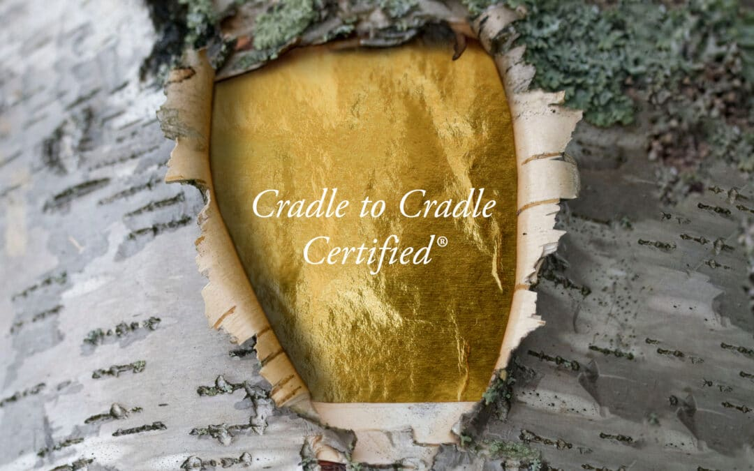 Lessebo Paper is the first paper producer in the world to achieve Cradle to Cradle Certified® GOLD