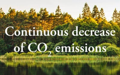 Continuous decrease of CO2 emissions from Lessebo Paper